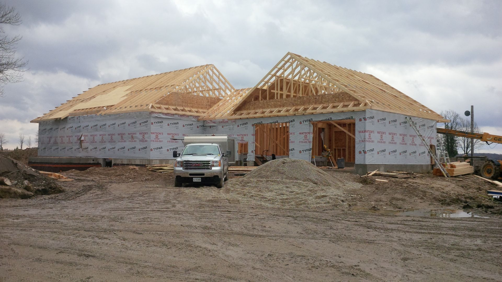 roofing huron construction building contractors
